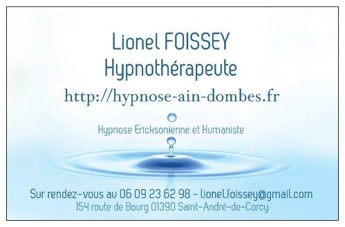 Lionel FOISSEY - Hypnothérapeute